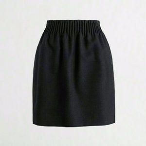 J. Crew Wool Sidewalk Skirt Mini, Size 0